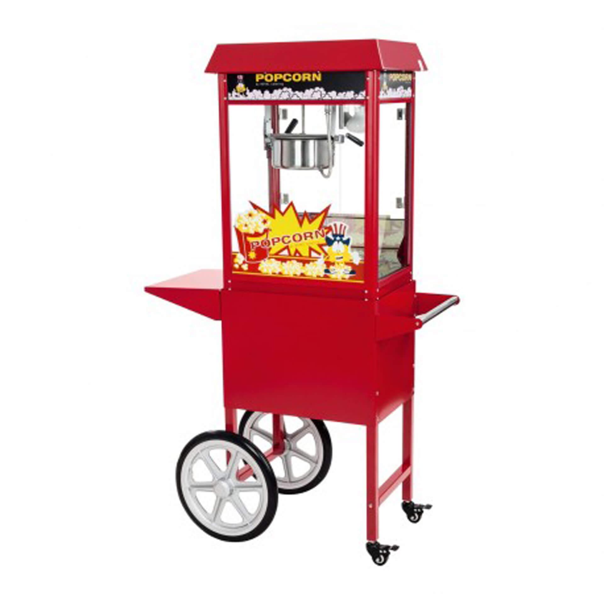 machine a pop corn chariot